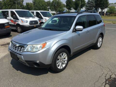 2012 Subaru Forester for sale at Candlewood Valley Motors in New Milford CT