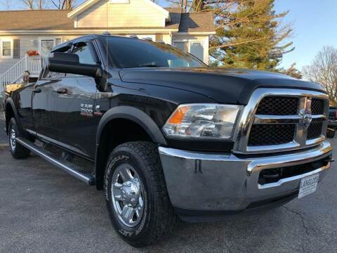 2017 RAM Ram Pickup 2500 for sale at Langlois Auto and Truck LLC in Kingston NH