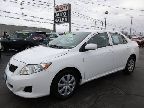 2010 Toyota Corolla for sale at TRI CITY AUTO SALES LLC in Menasha WI