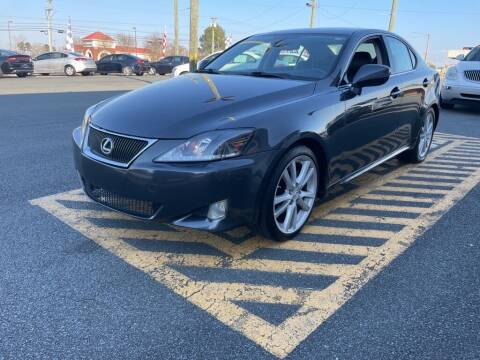 2007 Lexus IS 250 for sale at Auto America - Monroe in Monroe NC