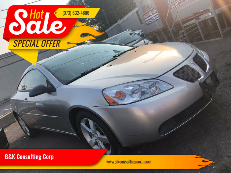 2006 Pontiac G6 for sale at G&K Consulting Corp in Fair Lawn NJ