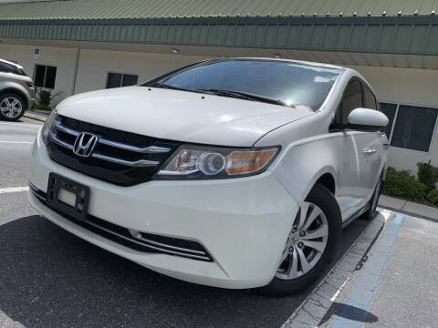 2014 Honda Odyssey for sale at Fisher Motor Group LLC in Bradenton FL