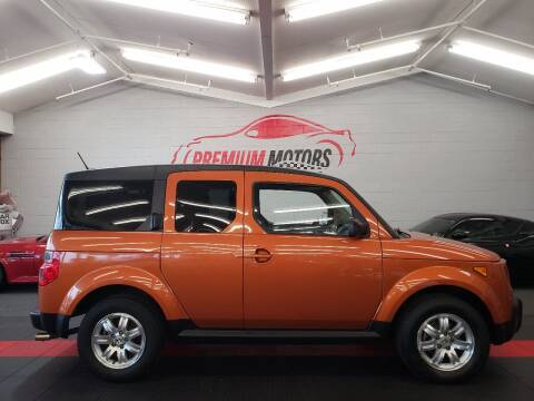 2008 Honda Element for sale at Premium Motors in Villa Park IL