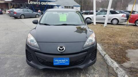 2012 Mazda MAZDA3 for sale at Lewis Auto Sales in Lisbon ME