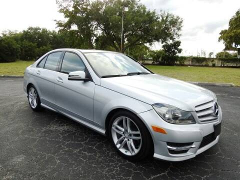 2013 Mercedes-Benz C-Class for sale at SUPER DEAL MOTORS 441 in Hollywood FL