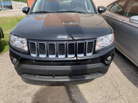 2012 Jeep Compass for sale at ALL TEAM AUTO in Las Vegas NV