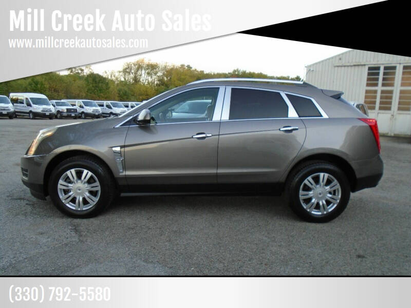 2011 Cadillac SRX for sale at Mill Creek Auto Sales in Youngstown OH