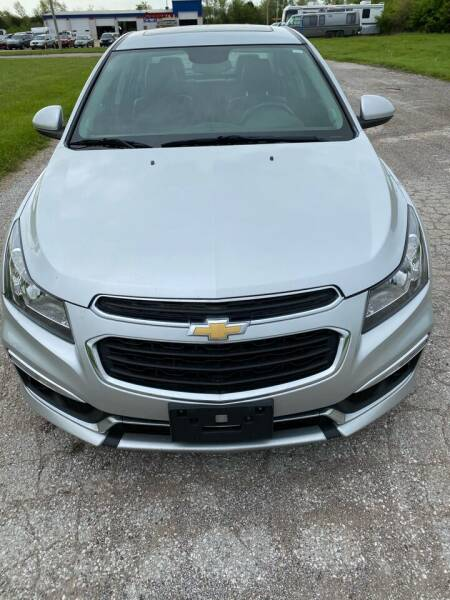 2015 Chevrolet Cruze for sale at MJ'S Sales in Foristell MO