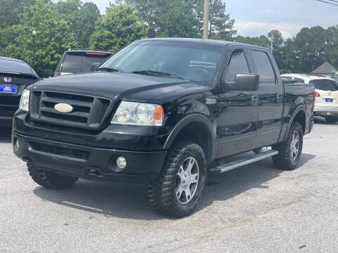 2006 Ford F-150 for sale at Luxury Cars of Atlanta in Snellville GA