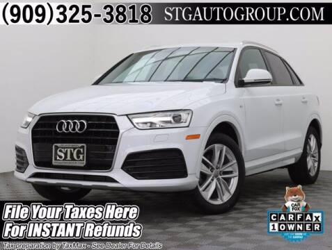 2018 Audi Q3 for sale at STG Auto Group in Montclair CA