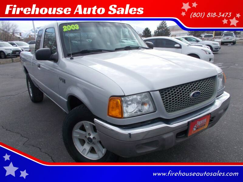 2003 Ford Ranger for sale at Firehouse Auto Sales in Springville UT