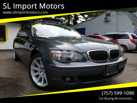 2006 BMW 7 Series for sale at SL Import Motors in Newport News VA