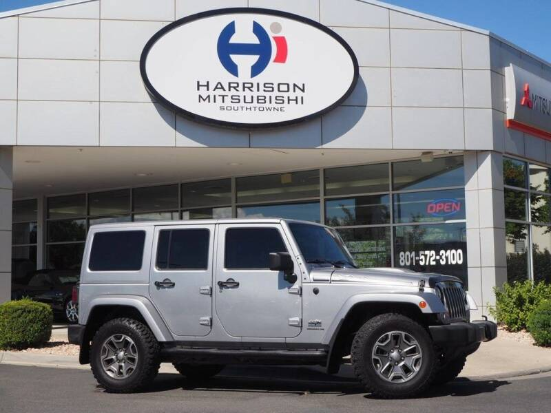 2014 Jeep Wrangler Unlimited for sale at Harrison Imports in Sandy UT