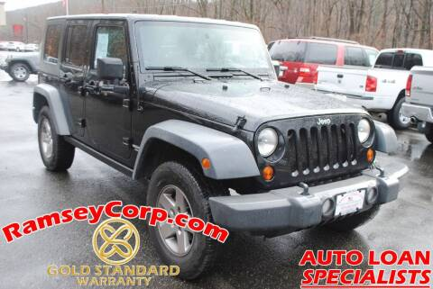 2010 Jeep Wrangler Unlimited for sale at Ramsey Corp. in West Milford NJ
