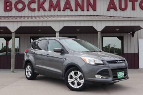 2013 Ford Escape for sale at Bockmann Auto Sales in St. Paul NE