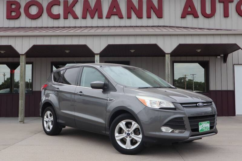 2013 Ford Escape for sale at Bockmann Auto Sales in Saint Paul NE