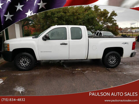 2010 Chevrolet Silverado 1500 for sale at Paulson Auto Sales in Chippewa Falls WI