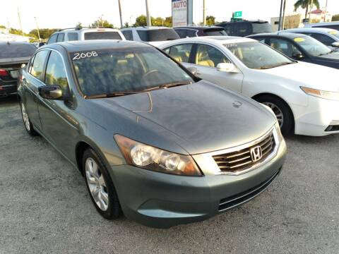 2008 Honda Accord for sale at P S AUTO ENTERPRISES INC in Miramar FL