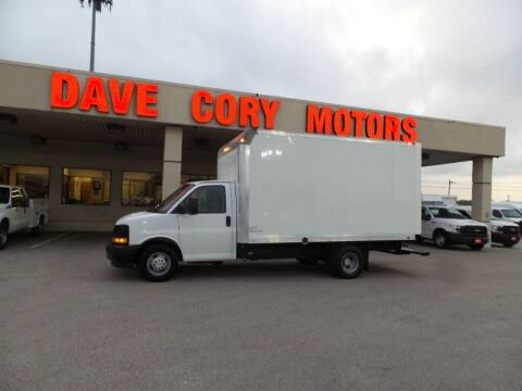 2017 Chevrolet Express Cutaway for sale at DAVE CORY MOTORS in Houston TX