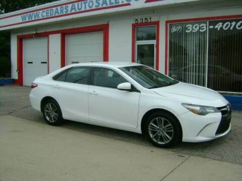 2015 Toyota Camry for sale at Cedar Auto Sales in Lansing MI