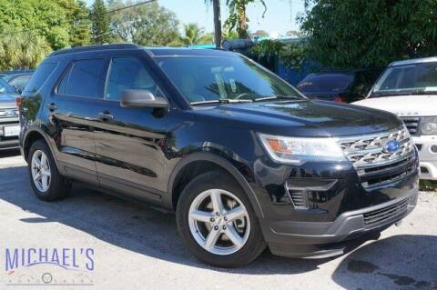 2018 Ford Explorer for sale at Michael's Auto Sales Corp in Hollywood FL