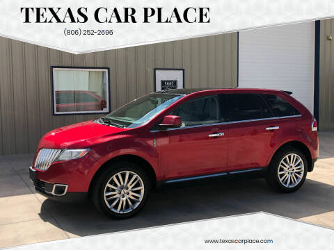 2011 Lincoln MKX for sale at TEXAS CAR PLACE in Lubbock TX