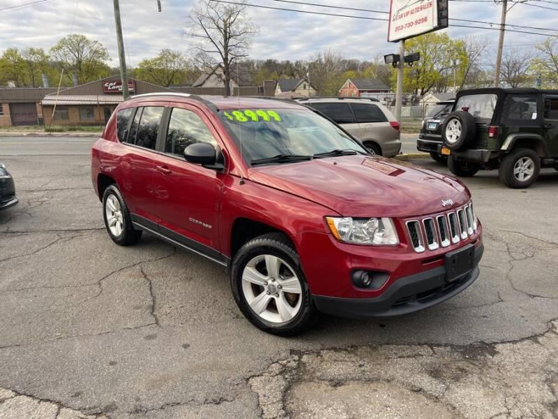 2012 Jeep Compass for sale at Car VIP Auto Sales in Danbury CT