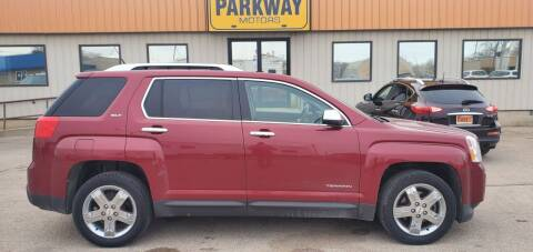 2012 GMC Terrain for sale at Parkway Motors in Springfield IL