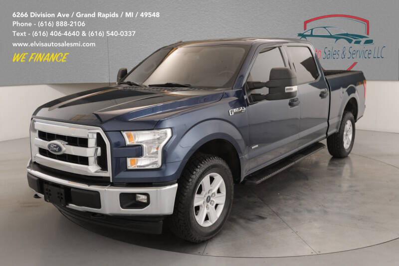 2017 Ford F-150 for sale at Elvis Auto Sales LLC in Grand Rapids MI