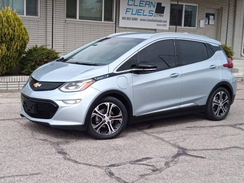2017 Chevrolet Bolt EV for sale at Clean Fuels Utah - SLC in Salt Lake City UT