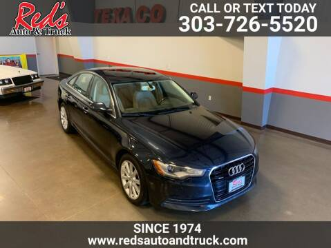 2015 Audi A6 for sale at Red's Auto and Truck in Longmont CO