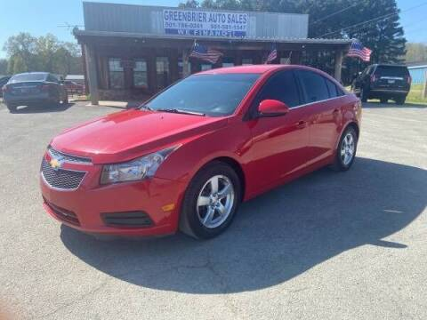 2014 Chevrolet Cruze for sale at Greenbrier Auto Sales in Greenbrier AR