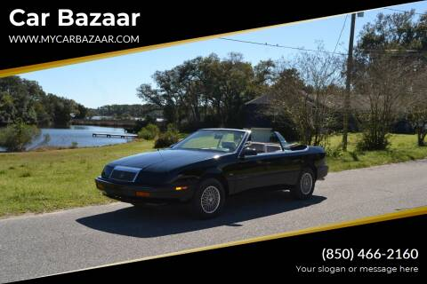 1991 Chrysler Le Baron for sale at Car Bazaar in Pensacola FL