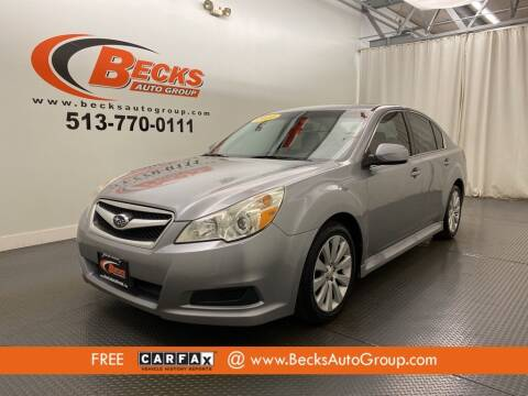 2010 Subaru Legacy for sale at Becks Auto Group in Mason OH
