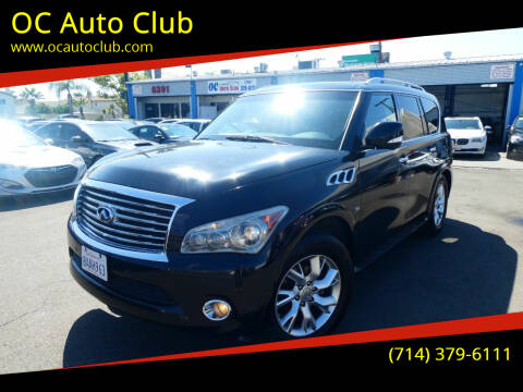 2014 Infiniti QX80 for sale at OC Auto Club in Midway City CA