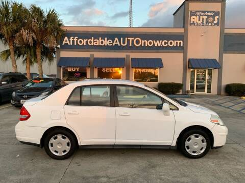 2008 Nissan Versa for sale at Affordable Autos in Houma LA