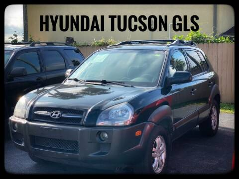 2006 Hyundai Tucson for sale at ASTRO MOTORS in Houston TX