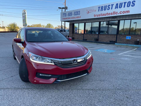 2017 Honda Accord for sale at Trust Autos, LLC in Decatur GA