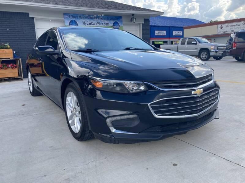 2016 Chevrolet Malibu for sale at Princeton Motors in Princeton TX