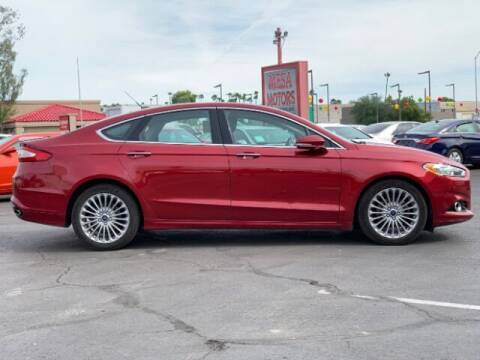 2016 Ford Fusion for sale at Curry's Cars Powered by Autohouse - Brown & Brown Wholesale in Mesa AZ