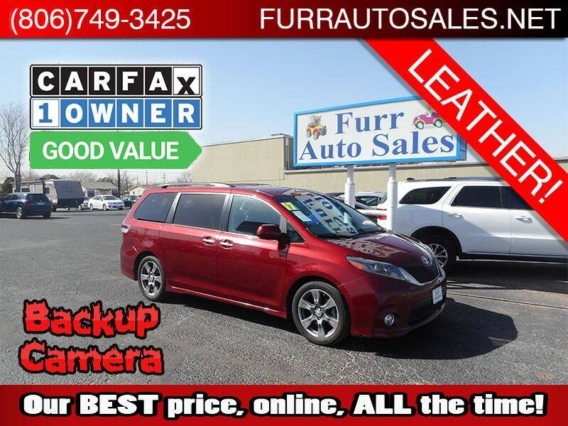 2017 Toyota Sienna for sale at FURR AUTO SALES in Lubbock TX