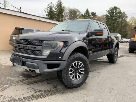 2013 Ford F-150 for sale at Velocity Motors in Newton MA