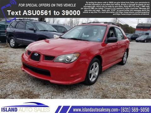 2006 Subaru Impreza for sale at Island Auto Sales in E.Patchogue NY