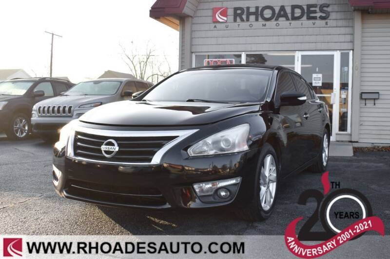 2014 Nissan Altima for sale at Rhoades Automotive in Columbia City IN