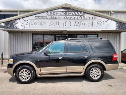 2011 Ford Expedition for sale at Don Auto World in Houston TX