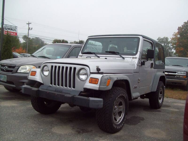 2002 Jeep Wrangler for sale at Frank Coffey in Milford NH