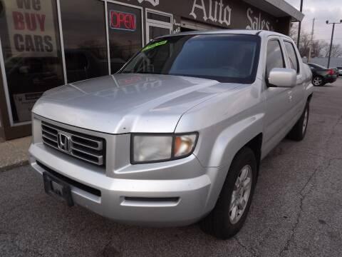 2007 Honda Ridgeline for sale at Arko Auto Sales in Eastlake OH