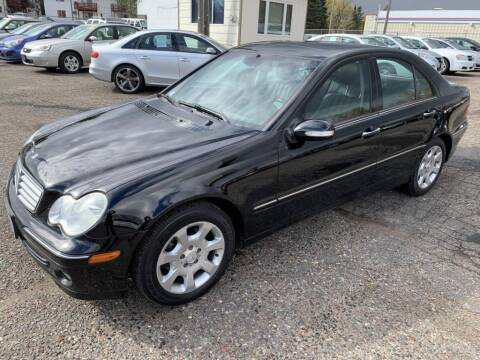 2005 Mercedes-Benz C-Class for sale at CHRISTIAN AUTO SALES in Anoka MN
