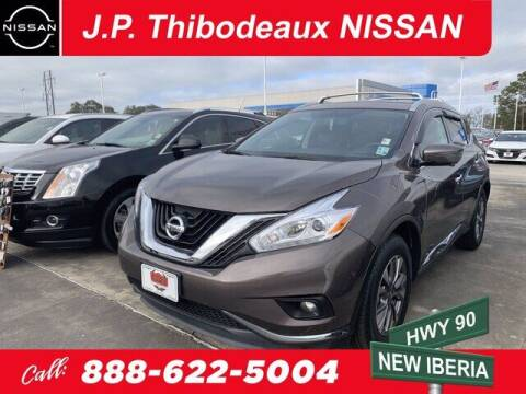 2017 Nissan Murano for sale at J P Thibodeaux Used Cars in New Iberia LA