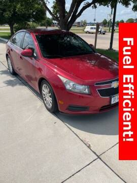 2012 Chevrolet Cruze for sale at Midway Auto Outlet in Kearney NE